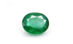 8.5 Ctw Genuine Oval Shape Emerald Stone In Jewel Case