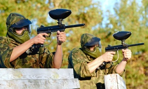 Fox 4 Paintball, Inc.: All-Day Paintball with Gear Rental and Ammo for One, Four, or Eight at Fox 4 Paintball (Up to 59% Off)