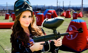 PaintballTickets.com: All-Day Paintball Passes for 4, 6, or 12 with Equipment from PaintballTickets.com (Up to 77% Off)