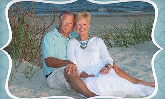 "Hilton Head Island Photography, Inc. - Hilton Head Island: $59 for a Family Beach Portrait and 20 4""x8"" Holiday Cards from Hilton Head Island Photography, Inc. ($175 Value)"