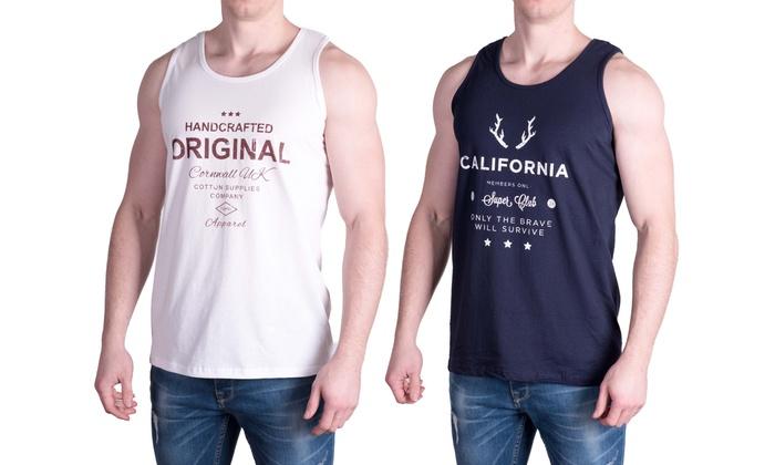 hot sale online 2663c 322e9 Ärmelloses Shirt für Herren   Groupon Goods