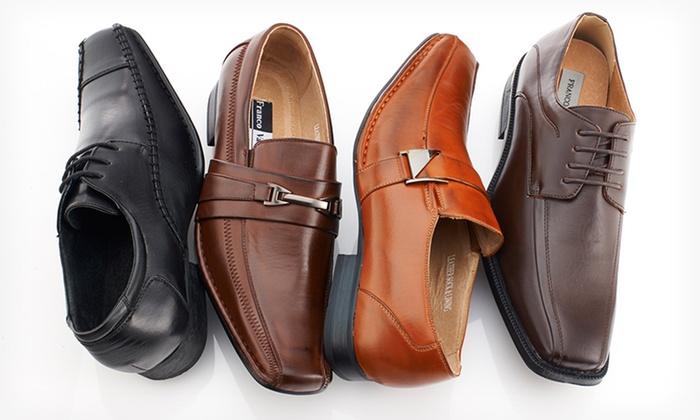 Franco Vanucci Men's Dress Shoes: Franco Vanucci Men's Dress Shoes. Multiple Options Available.