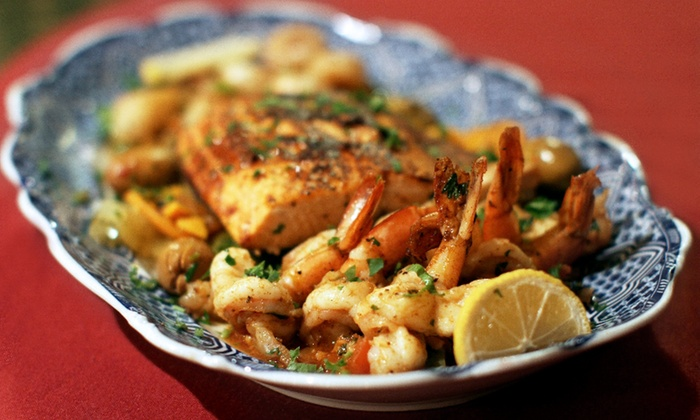 Imperial Fez - Imperial Fez: Family-Style Five-Course Moroccan Meal for Two or Four at Imperial Fez (Up to 56% Off)