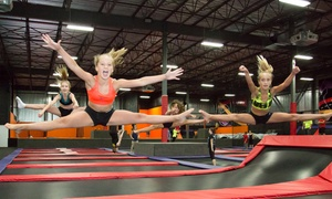 iSaute: 2 or 3 Hours of Trampoline at one of iSaute Trampoline Centres (Up to 47% Off), 5 Locations