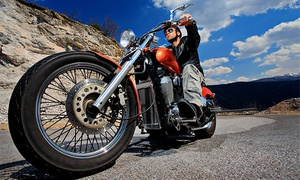 Full Throttle Riding Academy: Basic or Experienced Motorcycle-Rider Course at Full Throttle Riding Academy (Up to 49% Off)