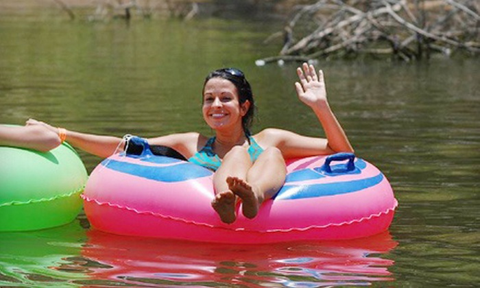 Tiki Tubing - 2: $16 for a Four-Hour Lazy River Tubing Adventure at Tiki Tubing ($33 Value)