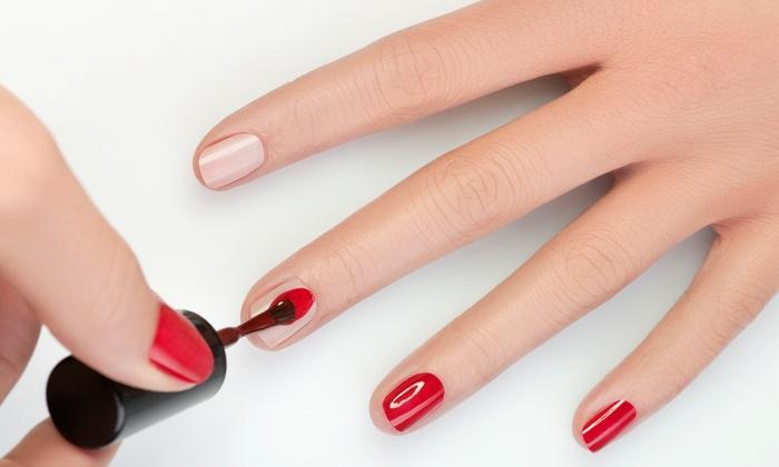 Finest Nails - Laguna Niguel: Basic Mani-Pedi or Acrylic Nail Set at Finest Nails (Up to 43% Off)