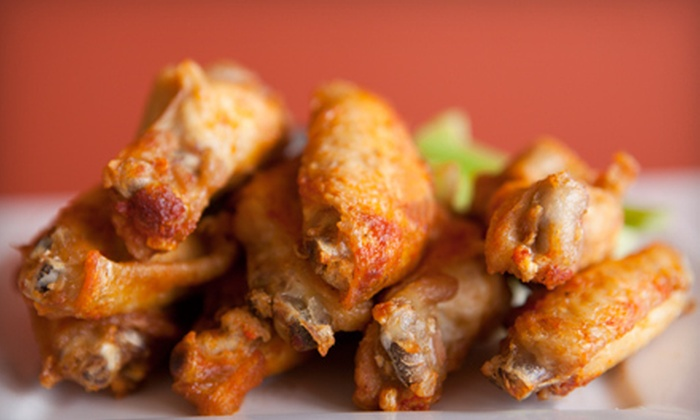 Chics N Wings - Tysons Central 123: Four Dozen Wings for Four or $10 for $20 Worth of Bar Food at Chics N Wings