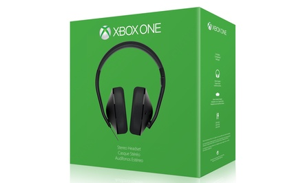 Xbox One Stereo Headset with Folding Boom Microphone