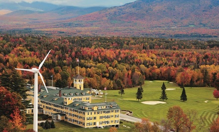 Stay with Optional $30 Resort Credit at Mountain View Grand Resort & Spa in Whitefield, NH. Dates Available into April.