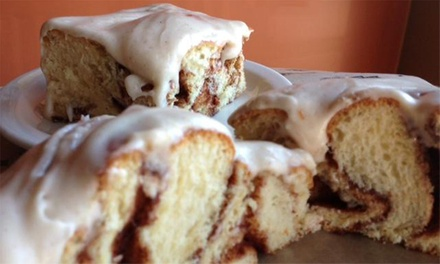 $11 for $20 Worth of Cafe Food and Baked Goods at Cinnamon Productions Bakery Cafe