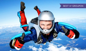 Midwest Freefall Sport Parachute Club: Intro or 14,000-Foot Tandem Skydive for One or Two at Midwest Freefall Sport Parachute Club (Up to 31% Off)