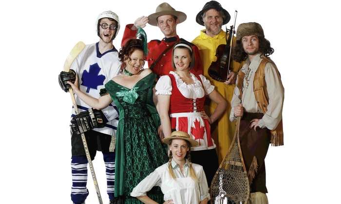 """""""Oh Canada, Eh?"""" - Oh Canada, Eh? Theatre: """"Oh Canada Eh?"""" Musical Theater Variety Show, June 12–July 10 (Up to 60% Off)"""