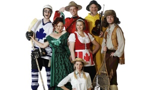 """Oh Canada, Eh?"": ""Oh Canada Eh?"" Musical Theater Variety Show Through October 16 (Up to 60% Off)"