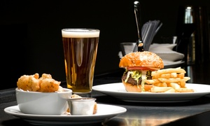 Kozmo Gastro Pub: Upscale Pub Food and Drinks at Kozmo Gastro Pub (Up to 42% Off). Three Options Available.
