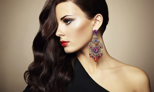 eikon Hair Lounge: Haircuts, Styles, and Eyebrow Arches at eikon Hair Lounge (Up to 52% Off). Two Options Available.