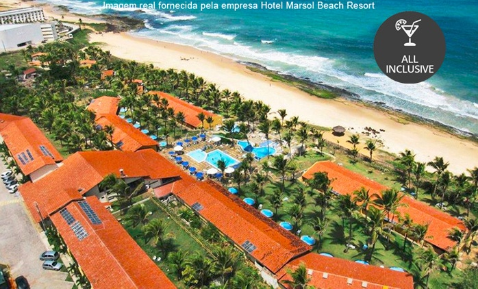 Natal/RN: até 10 noites a 2 + All Inclusive no Hotel Marsol Beach Resort
