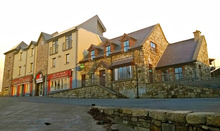 Co. Sligo: 2Night Stay for Two with Breakfast and Late CheckOut at Pier Head Hotel