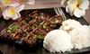 Hawaiian Grindz - Seminole Terrace: Hawaiian Food at Hawaiian Grindz in Oviedo (Half Off)