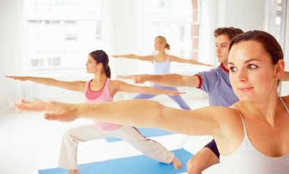 image for Seven Yoga Classes for One or Two at The Yoga Rooms (Up to 62% Off)