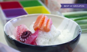 Tomo Sushi: Sushi for Two During Lunch or Dinner at Tomo Sushi (40% Off)