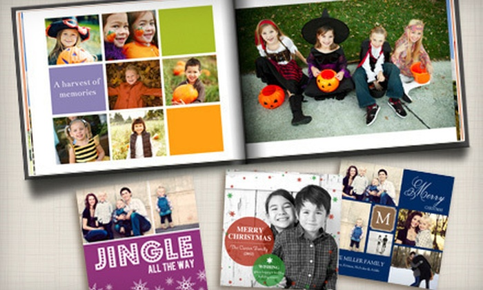 Mixbook: $15 for $40 Worth of Personalized Photo Books, Cards, and Calendars from Mixbook