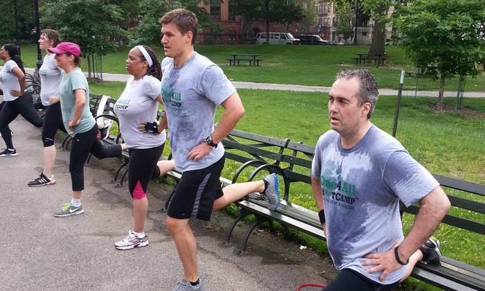 One4all Fitness - New York: Four Weeks of Unlimited Boot-Camp Classes at One4All Fitness (70% Off)