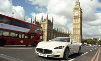 30- or 60-Minute Maserati GranCabrio Driving Experience with GT Rush (Up to 34% Off)