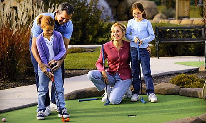 Pirates' Cove - Keystone at The Crossing: $13 for Four Rounds of Mini Golf at Pirates' Cove (Up to $26 Value)