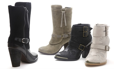 Kensie Heeled Ankle Boots. Multiple Styles and Colors Available from $59.99-$66.99.