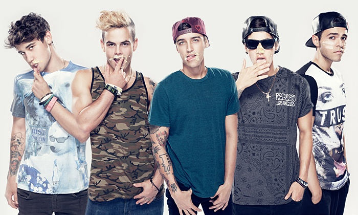 The Janoskians - Fourth Ward: The Janoskians at The Fillmore Charlotte on September 23 at 7 p.m. (Up to 49% Off)