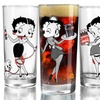 Set of 4 Betty Boop Collectible 15.25 Oz. Glasses