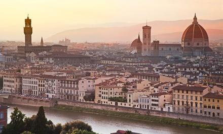 ✈Florencia y Venecia: 6 días y 5 noches con desayuno vuelo directo I/V y billetes de tren