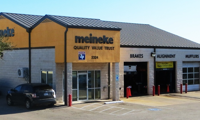 Meineke Car Care Center - Pflugerville: $69 for One Year's Worth of Alignment Services at Meineke Car Care Center - Pflugerville ($119 Total Value)