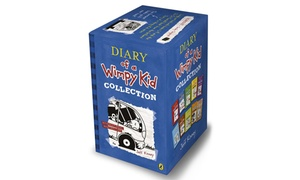 The Wimpy Kid 10-Book Set