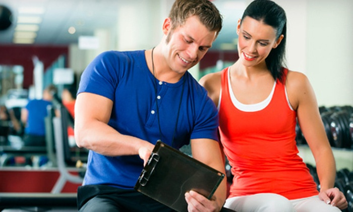 Sheraton Fitness - Manhattan: One or Five 50-Minute Personal-Training Sessions at Sheraton Fitness (Up to 56% Off)