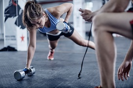 Coastal Fitness: Two Personal Training Sessions with Diet and Weight-Loss Consultation from Coastal Fitness (55% Off)