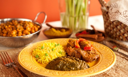 Indian Cuisine for Dine-In or Carry-Out at Nandini Indian Restaurant (Up to 43% Off). Three Options Available.