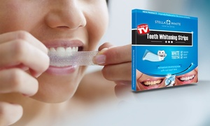28 strisce per denti Stella White