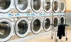 New City Laundromat - College Point: Wash-and-Fold Service with Pickup and Delivery from New City Laundromat (Up to 38% Off). Two Options Available.