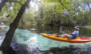 Half-Day Canoe Trip on the Santa Fe River for Two, Four, or Six from Rum 138 (Up to 52% Off)