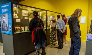 Pasadena Museum of History: Exhibition Gallery Admission Tickets for Two or Four or One Friend-Level Membership at the Pasadena Museum of History (Up to 43% Off)