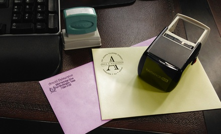 Personalized Self-Inking Stamper from InvitationBox from $19–$29