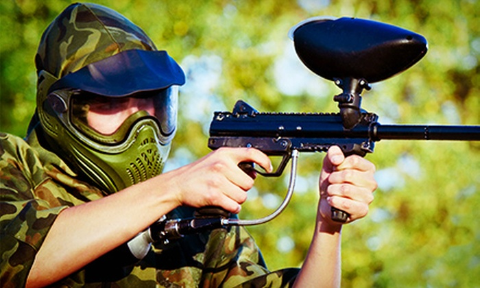 Warzone Paintball & Airsoft - North Kingstown: Paintball Outing for Two or Four at Warzone Paintball & Airsoft (51% Off)