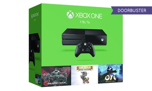 Xbox One 1tb Console With Gears Of War: Ultimate Edition, Ori And The Blind Forest, And Rare Replay