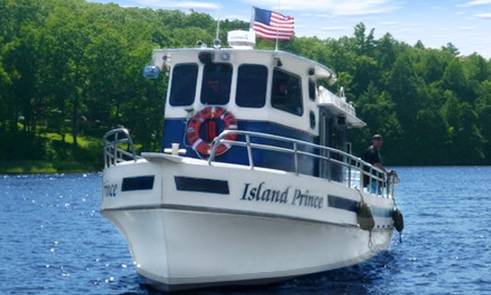 Captain John's Charters - Camp Ellis: Scenic Day or Evening Cruise for Two or Four from Captain John's Charters in Saco (Up to 54% Off)