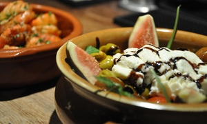 La Raza: Tapas and Wine for Two, Four or Six at La Raza (63% Off)