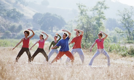 5 or 10 Drop-In Tai Chi Classes for One or Two at A to Zen Massage (Up to 66% Off)