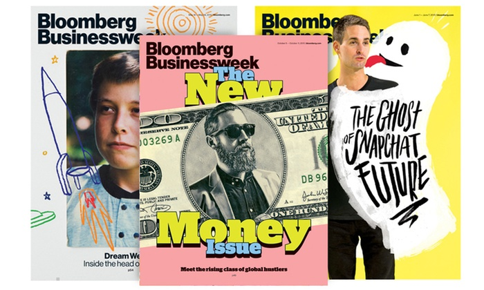 Bloomberg Businessweek: 12-, 50-, or 100-Issue Subscription with iPhone and iPad Access to Bloomberg Businessweek (Up to 53% Off)