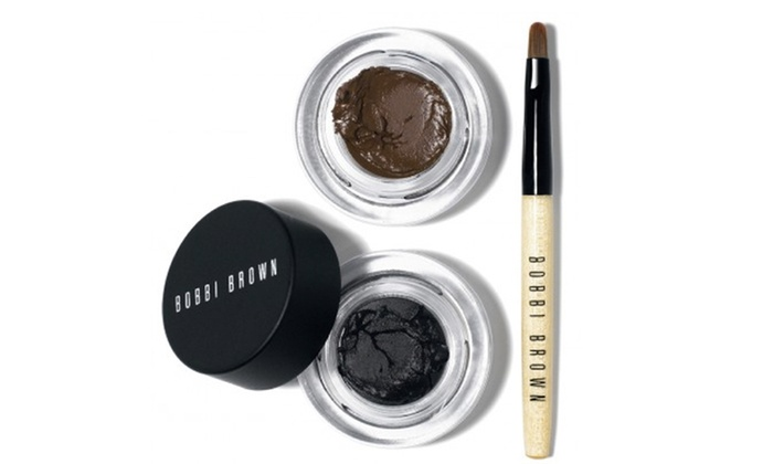 Bobbi Brown Long Wear Gel Eyeliner Duo | Groupon